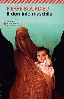 Il dominio maschile - Pierre Bourdieu - copertina