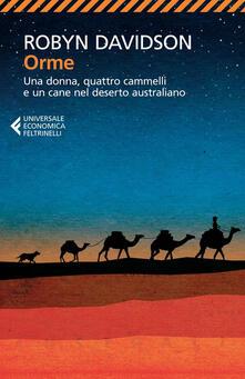 Squillogame.it Orme. Una donna, quattro cammelli e un cane nel deserto australiano Image