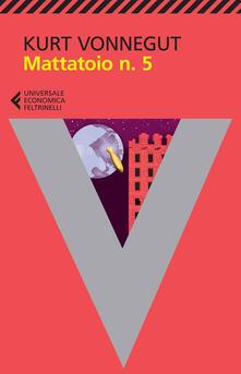 Mattatoio n. 5 - Kurt Vonnegut - copertina
