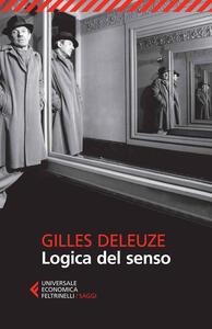 Logica del senso - Gilles Deleuze - copertina