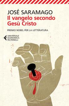 Il Vangelo secondo Gesù Cristo - José Saramago - copertina