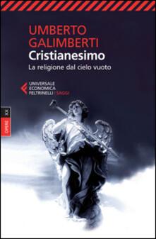 Camfeed.it Opere. Vol. 20: Cristianesimo. La religione dal cielo vuoto. Image