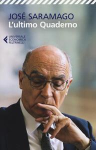 L' ultimo quaderno - José Saramago - copertina