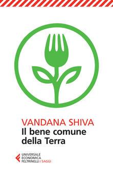 Il bene comune della Terra - Vandana Shiva - copertina