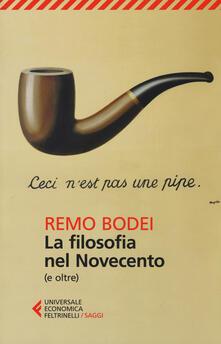La filosofia nel Novecento (e oltre) - Remo Bodei - copertina
