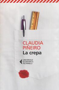 La crepa - Claudia Piñeiro - copertina