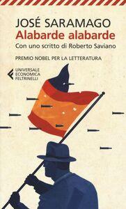 Libro Alabarde alabarde José Saramago
