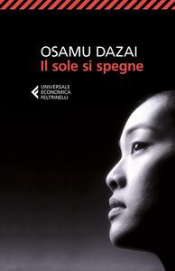 Il sole si spegne - Osamu Dazai - copertina