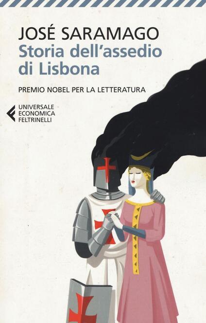 Storia dell'assedio di Lisbona - José Saramago - copertina