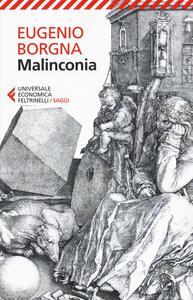 Malinconia - Eugenio Borgna - copertina