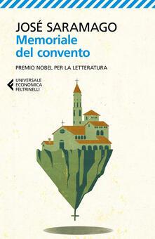 Memoriale del convento - José Saramago - copertina