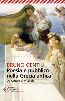Capturtokyoedition.it Poesia e pubblico nella Grecia antica da Omero al V secolo Image