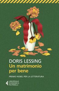 Un matrimonio per bene - Doris Lessing - copertina