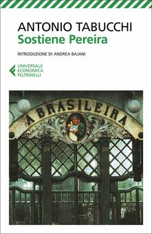 Sostiene Pereira. Una testimonianza - Antonio Tabucchi - copertina