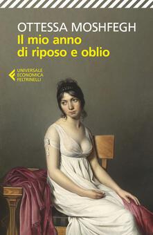 Il mio anno di riposo e oblio - Ottessa Moshfegh - copertina