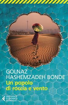 Un popolo di roccia e vento - Golnaz Hashemzadeh Bonde - copertina
