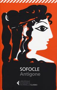 Libro Antigone. Testo greco a fronte Sofocle