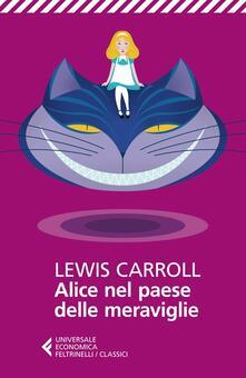 Alice nel paese delle meraviglie - Lewis Carroll - copertina