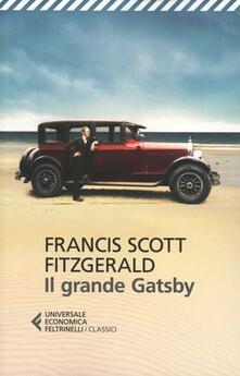 Il grande Gatsby - Francis Scott Fitzgerald - copertina