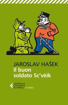 Il buon soldato Sc'vèik - Jaroslav Hasek - copertina