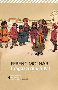 I ragazzi di via Pál - Ferenc Molnár - copertina