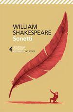 Libro Sonetti. Testo inglese a fronte William Shakespeare