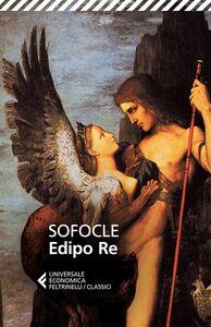 Libro Edipo re. Testo greco a fronte Sofocle