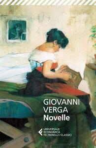 Le novelle - Giovanni Verga - copertina