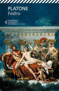 Libro Fedro. Testo greco a fronte Platone