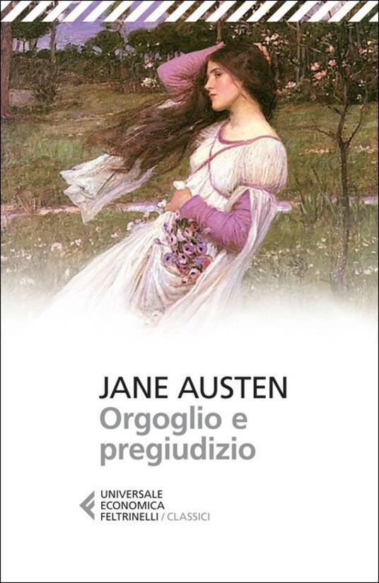 Orgoglio e pregiudizio - Jane Austen - copertina