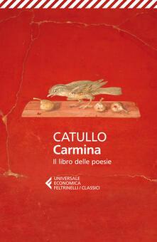 Osteriacasadimare.it Carmina. Il libro delle poesie. Testo latino a fronte Image