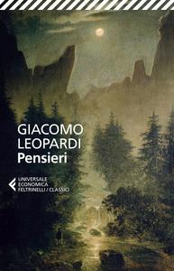 Libro Pensieri Giacomo Leopardi