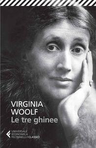 Libro Le tre ghinee Virginia Woolf