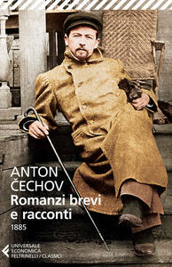 Romanzi brevi e racconti (1885) - Anton Cechov - copertina