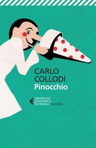 Foto Cover di Pinocchio, Libro di Carlo Collodi, edito da Feltrinelli
