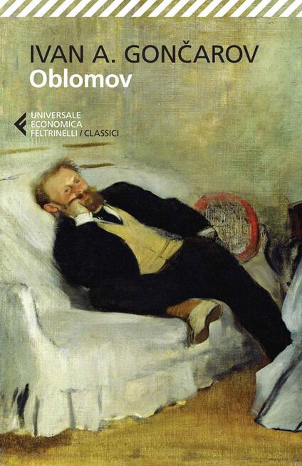 Oblomov - Ivan Goncarov - copertina