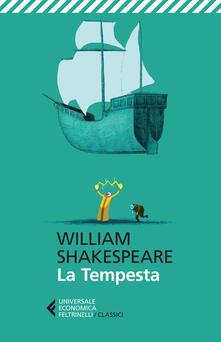 La tempesta. Testo inglese a fronte - William Shakespeare - copertina