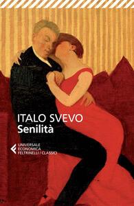 Senilità - Italo Svevo - copertina