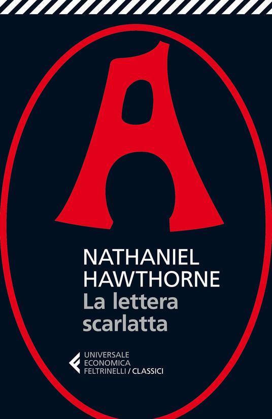 La lettera scarlatta - Nathaniel Hawthorne - copertina