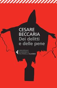 Libro Dei delitti e delle pene Cesare Beccaria