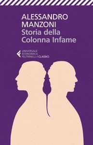 Libro Storia della colonna infame Alessandro Manzoni