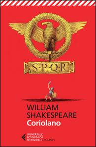 Libro Coriolano. Testo inglese a fronte William Shakespeare