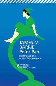 Libro Peter Pan. Il bambino che non voleva crescere. Testo inglese a fronte James M. Barrie