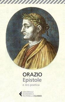 Winniearcher.com Epistole-Ars poetica. Testo latino a fronte Image