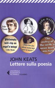 Libro Lettere sulla poesia John Keats