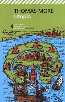 L' utopia - Tommaso Moro - copertina
