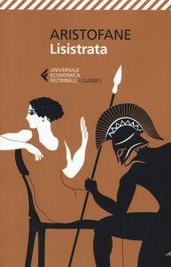 Libro Lisistrata. Testo origianale a fronte Aristofane