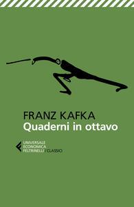 Quaderni in ottavo - Franz Kafka - copertina