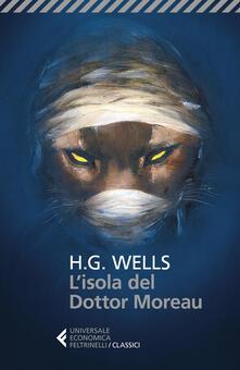 L' isola del dottor Moreau - Herbert G. Wells - copertina