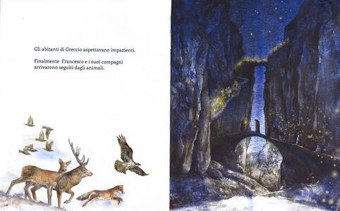 Libro San Francesco e la notte di Natale Chiara Frugoni , Felice Feltracco 3